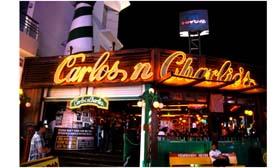Cancun Bars Carlos n Charlies